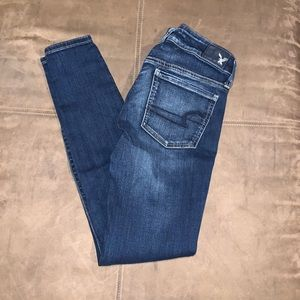 American Eagle AEO Jegging Super Low Sz 4